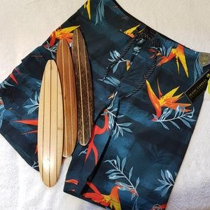 OCEAN CURRENT BONDI BOARDSHORTS, WITH FREE GIFT!